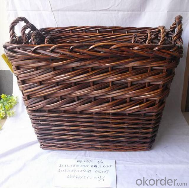 High Quality Home Organization Rectangle Home Storage Basket 3Pcs/Set