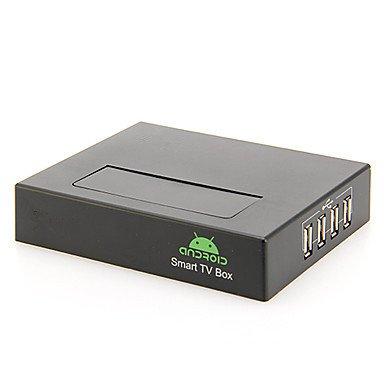 A19 Android TV Box Dual Core Cortex HDMI Full HD 1080P 2GB/8GB Mini PC