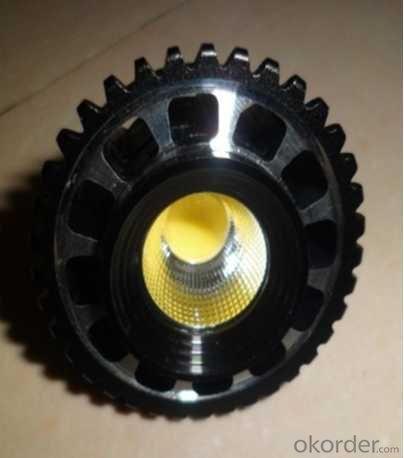 LED Lamp 5W COB Chip Spot Light CRI 80  Gu10 110-240V