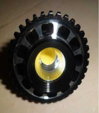 LED Lamp 5W COB Chip Spot Light CRI 80  Gu10 110-240V