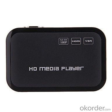 JK04 USB Full HD 1080 Media Player HDMI VGA MKV H.264 Support SD Card HDD