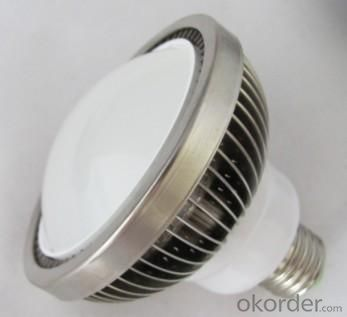 LED PAR 38 Light Finned Radiator 18W E-Type Spot Light E27 Base SMD LED Chip 85-265V