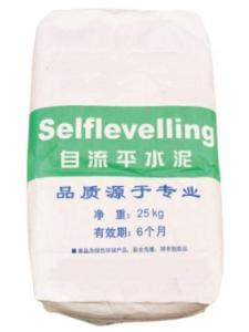 Self-leveling polymer cement