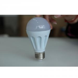 COB Epistar LED Bulb Light Aluminum Radiator E27/E26 7W
