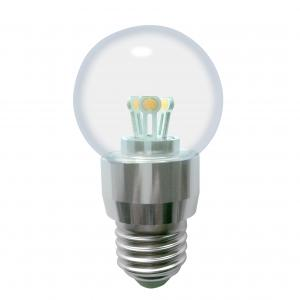 Dimmalbe LED Globe Bulb G50 3W Ra85 180lm 85-265V E12/E14/E26/E27/B15/B22 COB LED Chip Clear/Frosted/Milky Glass Cover