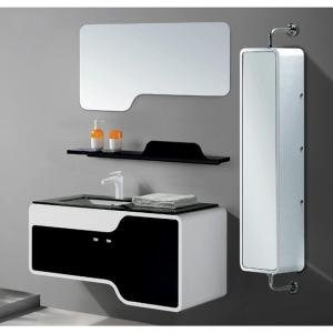 Wholesale Bathroom Cabinet High End Washing Hand Basin Cabinet Pvc Bathroom Cabinet