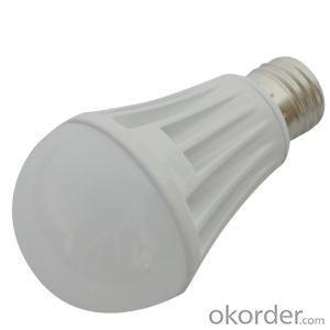 Factory Newest PC Cover LED Lamp Die-cast Aluminum 7W E27/ E26 630lm 85-265V LED Bulb Light