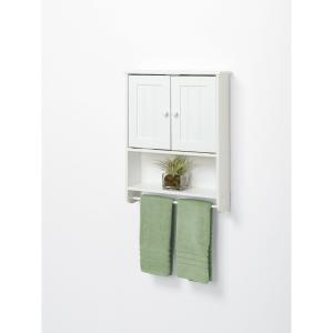 Classical White Bath Cabinet
