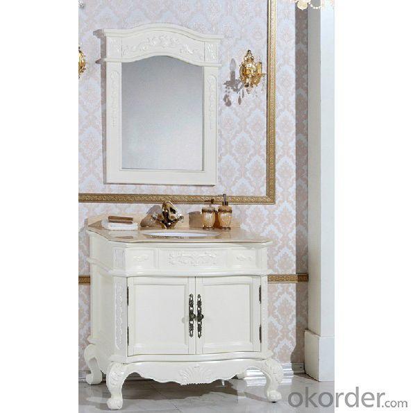 White Oak Bathroom Cabinet In Stock