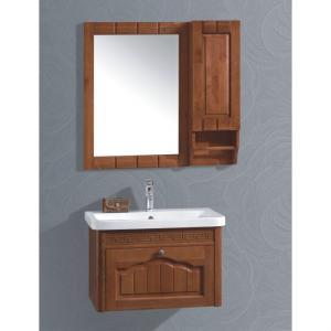 Hot Item Oak Ceramic Top Bath Cabinet