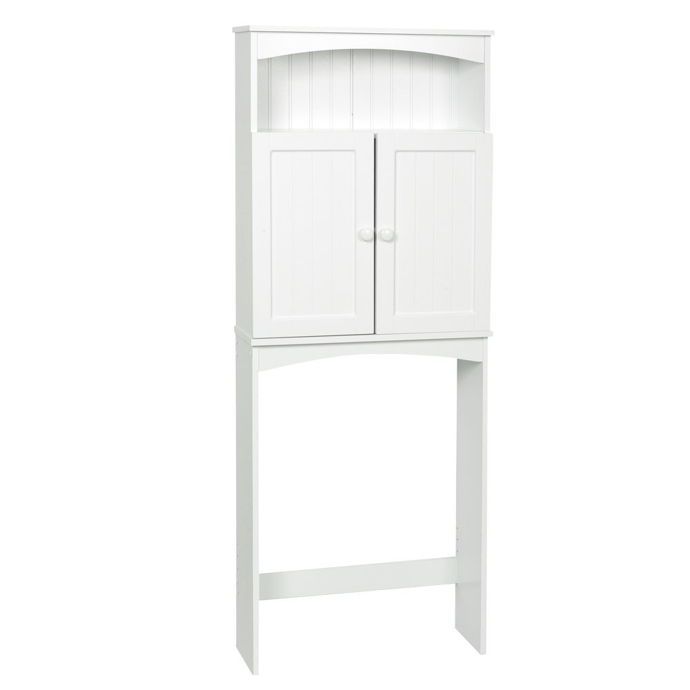 High Quality Bath Shelf Space Saver,White