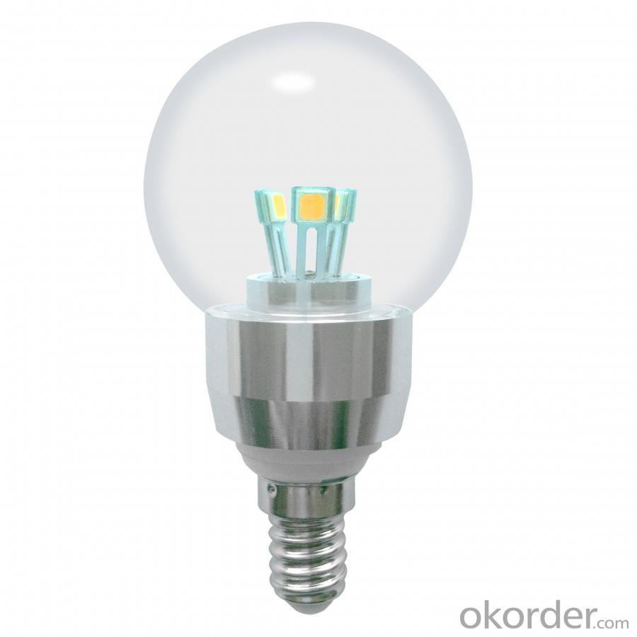 Dimmable LED Globe Bulb G50 4W E14 280lm 85-265V E12/E14/E17/E26/E27/B15/B22 SMD LED Chip Clear/Frosted/Milky Glass Cover