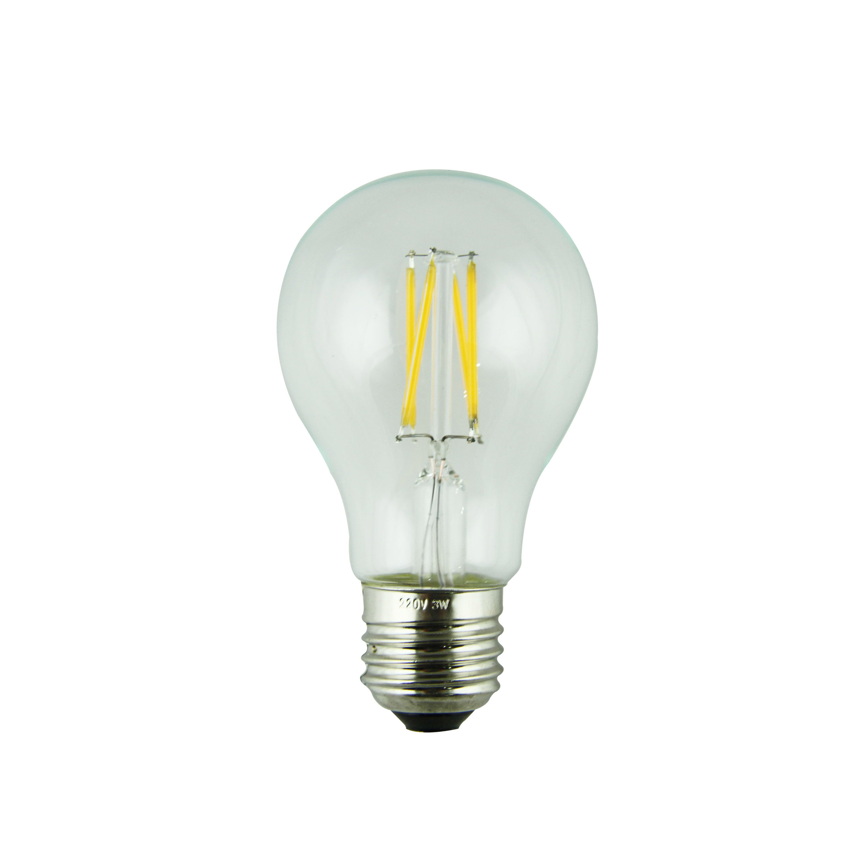 LED Filament Lamp 360°Globe Bulb E27 A60 6W AC110V/220V 420-450lm Warm White/White