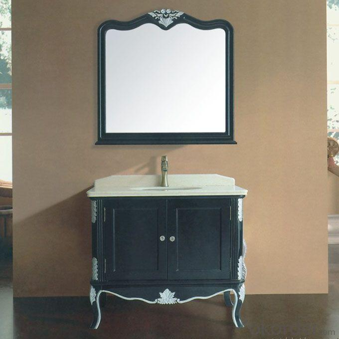 The Greatest Black Oak Bathroom Cabinet