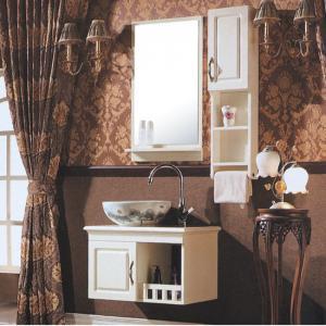 High Top White Bath Vanity Mirror Cabinet