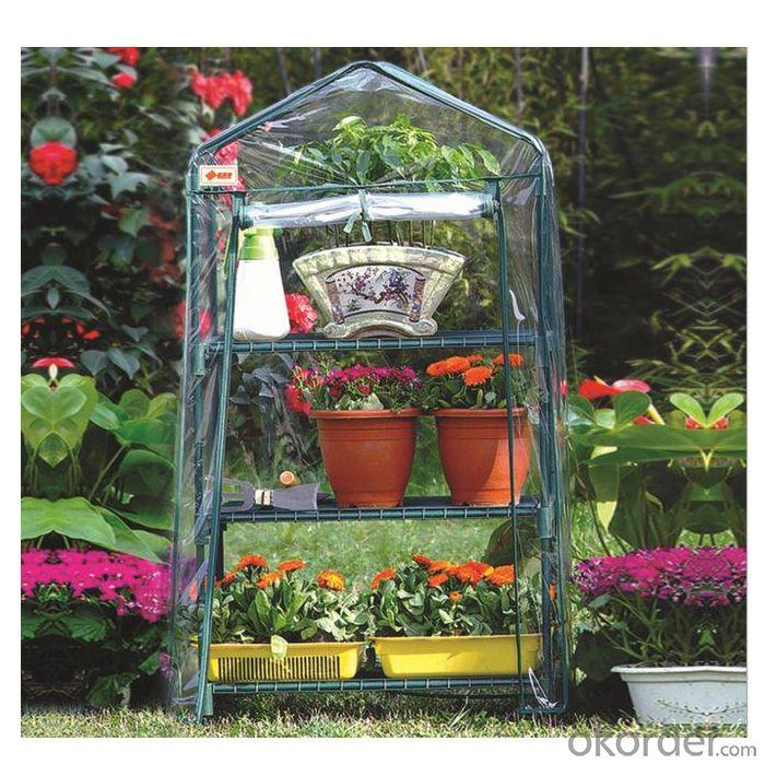 Popular Outdoor Product New Design Three Layer PVC Garden Greenhouse