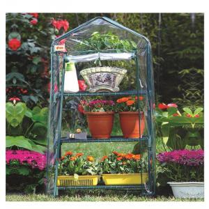 Popular Outdoor Product New Design Three Layer PVC Garden Greenhouse