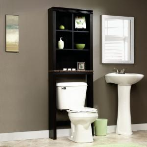 Hot Item Black Bath Shelf Bath Cabinet