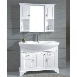Modern Ceramic Top White Bathroom Vanity