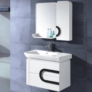White Fashion Bathroom Cabinet In Stock