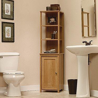 High Quality Nature Bath Storage Bath Cabinet