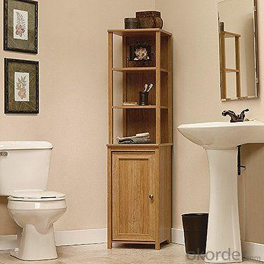 High Quality Nature Bath Storage Bath Cabinet