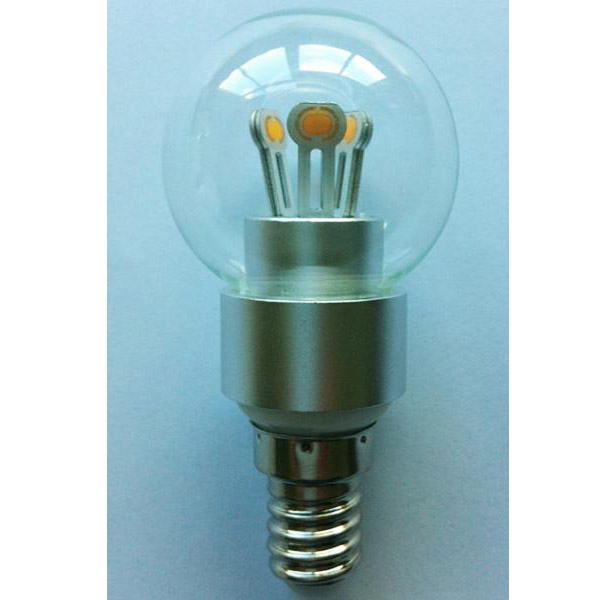 LED Globe Bulb G40 3W E14 180lm 85-265V E14/E17B15 COB LED Chip Clear/Frosted/Milky Glass Cover