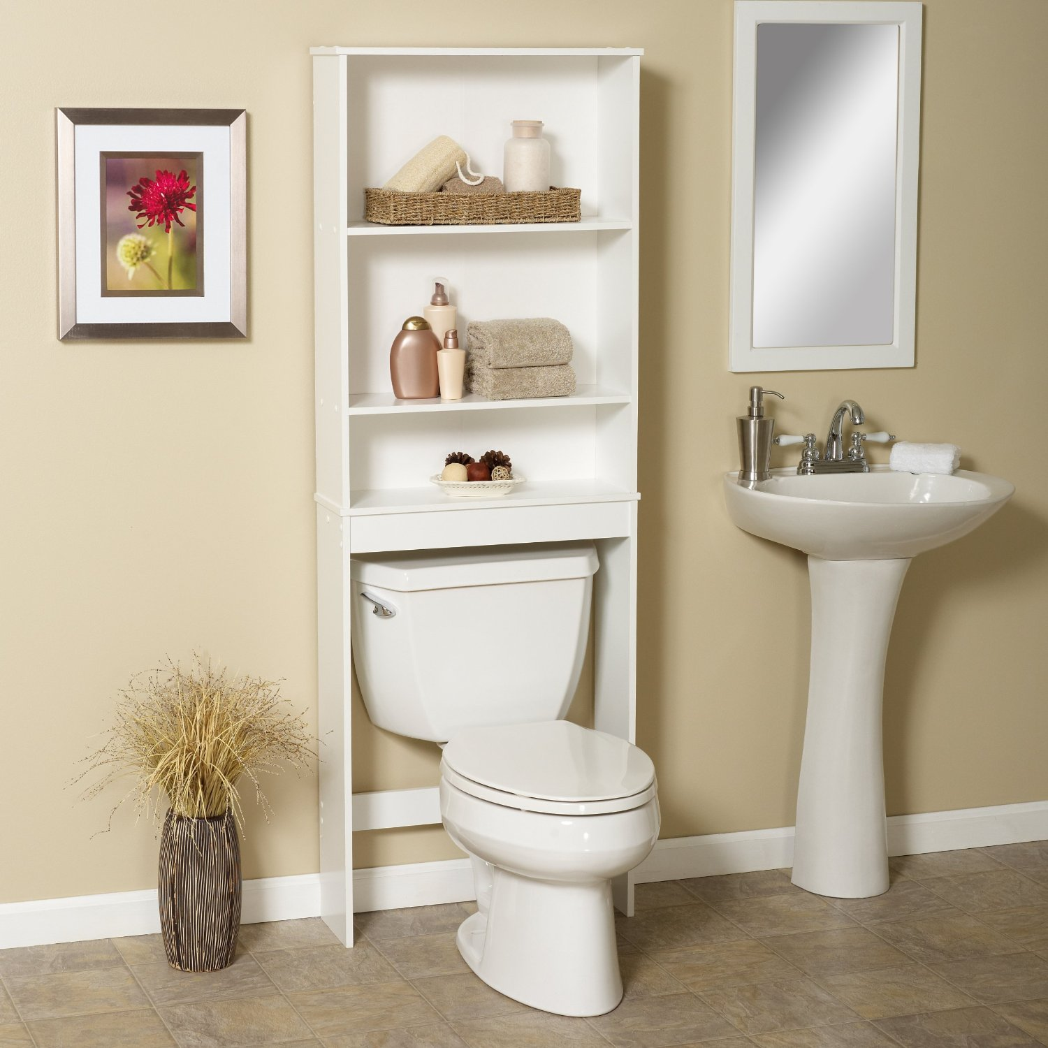 Simple High Quality Space Saver Bath Cabinet