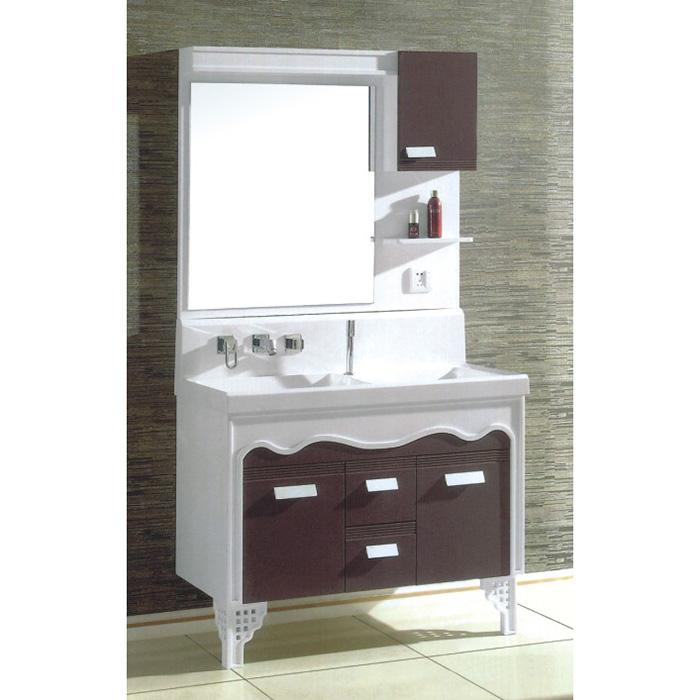 2014 New Design High Quality&Cheap Modern Mirrored Pvc Bathroom Cabinet