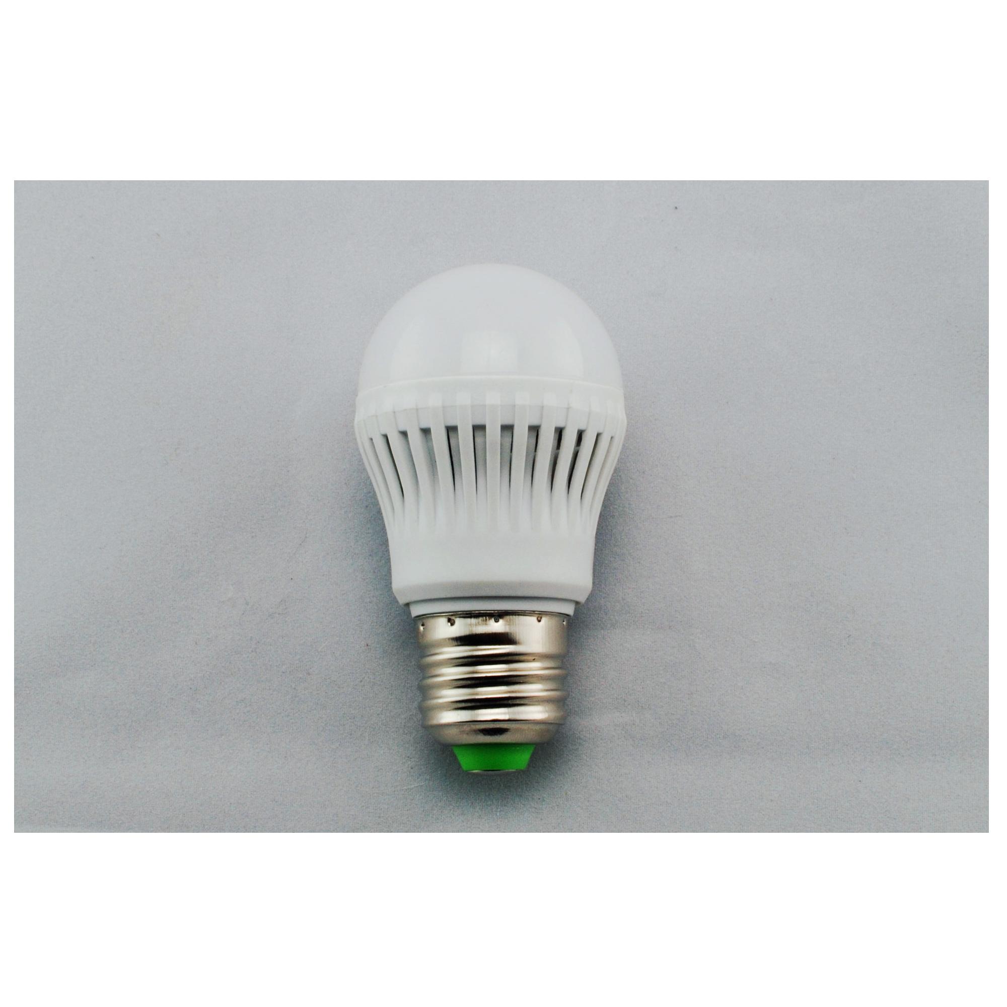 LED Bulb Light PMMA Cover+Plastic Radiator Epistar SMD 2835 E27 3W