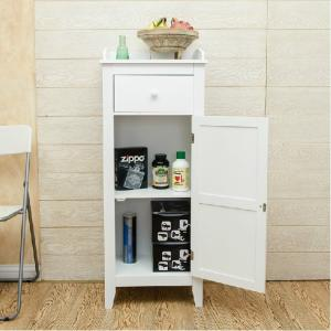 White Bath Storage Bath Cabinet