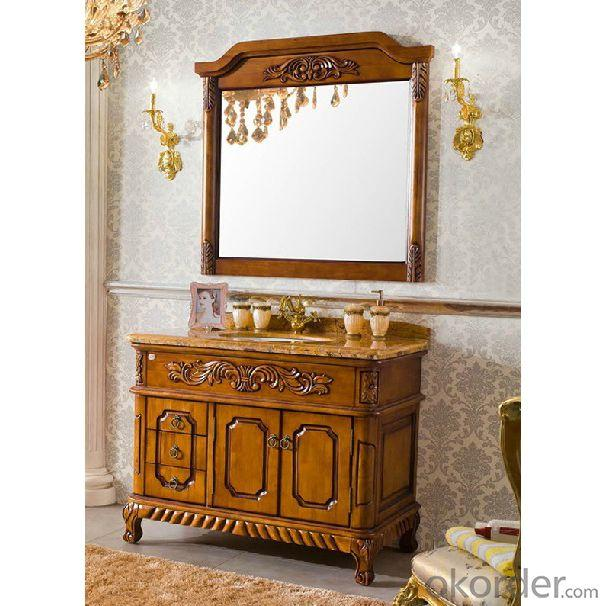 High Quality Solid Wood Bathroom Cabinet