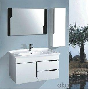 High Quality Classical White Ceramic Top Bath Cabinet