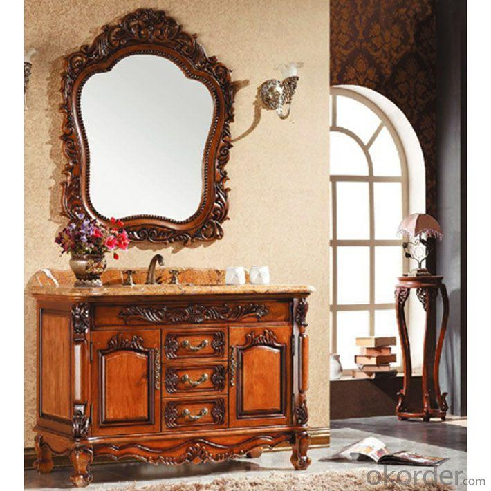 Solid Wood High Quality Oak Bath Cabinet