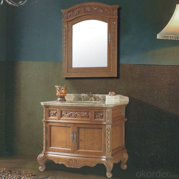 The Greatest Nature Oak Bathroom Cabinet