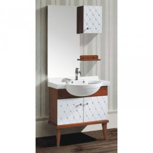 Hot Item Oak Cabinet Ceramic Top Bath Vanity