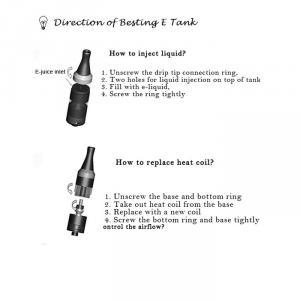 Tank Vaporizer Ego E Cigarette Tank System