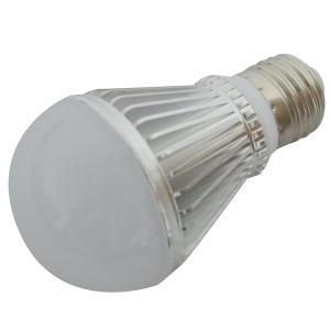 PC Cover LED Lamp Aluminum 6W E27/ E26 450lm 85-265V LED Bulb Light