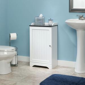 Applied White Bath Cabinet Bath Storage
