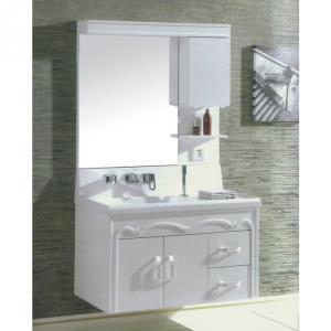 New Design White PVC Bathroom Cabinet