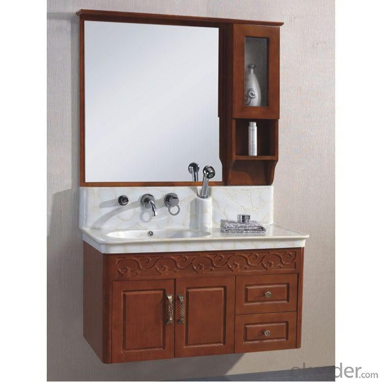 Popular Oak Bath Cabinet