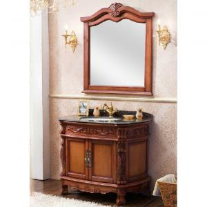 2014 Good Quality Popular Classic Oak Bathroom Cabinet