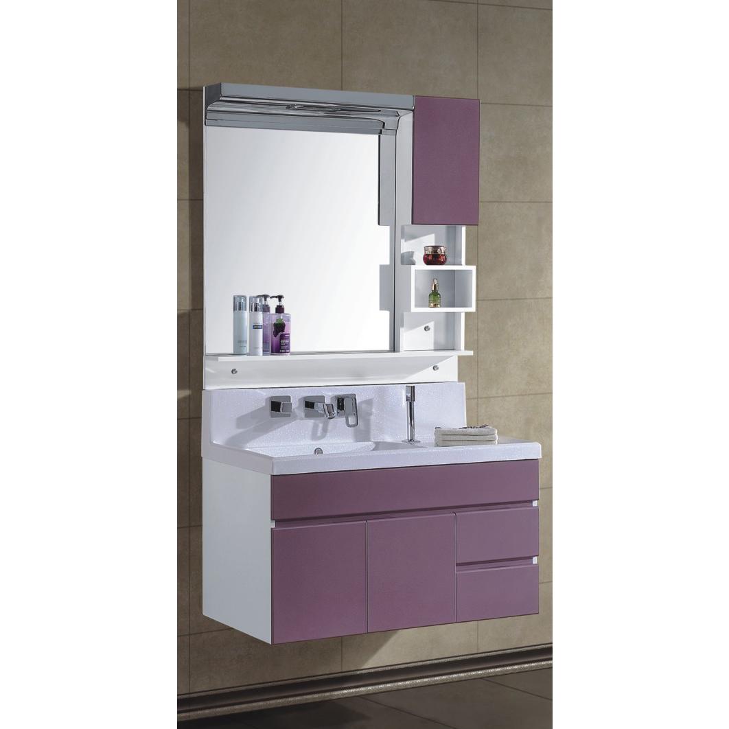 New Arrival Popular Modern PVC Bathroom Cabinet