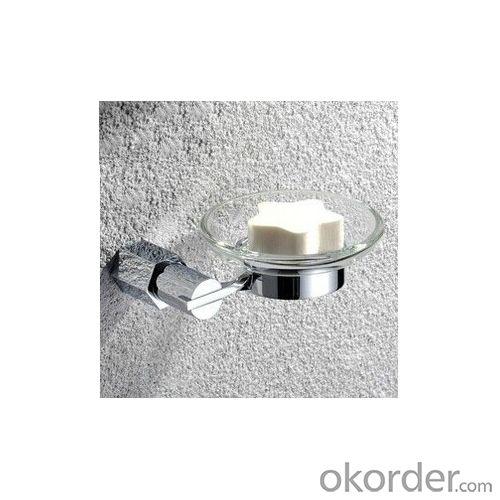New Design Exquisite Decorative Bathroom Accessories Solid Brass Soap Dish Holder