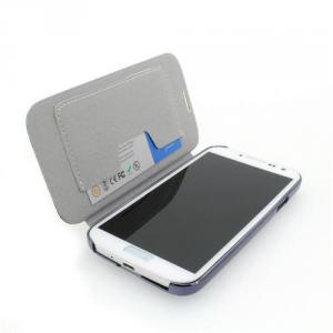 Hot Sale Wallet Pouch Luxury PU Leather Case Cover for Samsung Galaxy S4 (I9500) White
