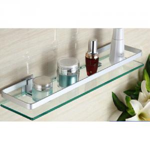 Exquisite Decorative Bathroom Accessories Glass Shelf