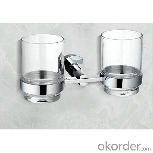 Mondern Design Bathroom Accessories Brass Tumbler Holder