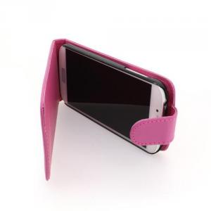 Luxury PU Leather Flip Case Cover for Samsung Galaxy S4 (I9500) Pink