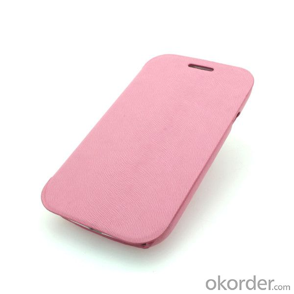 Wallet Pouch Luxury PU Leather Case Cover for Samsung Galaxy S3 (I9300) Pink