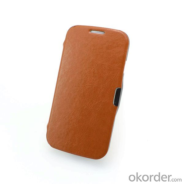 2014 New High Quality PU Leather Smart Cover Case with Stand for Samsung Galaxy S4 Mini i9190 PU Leather Flip Cases